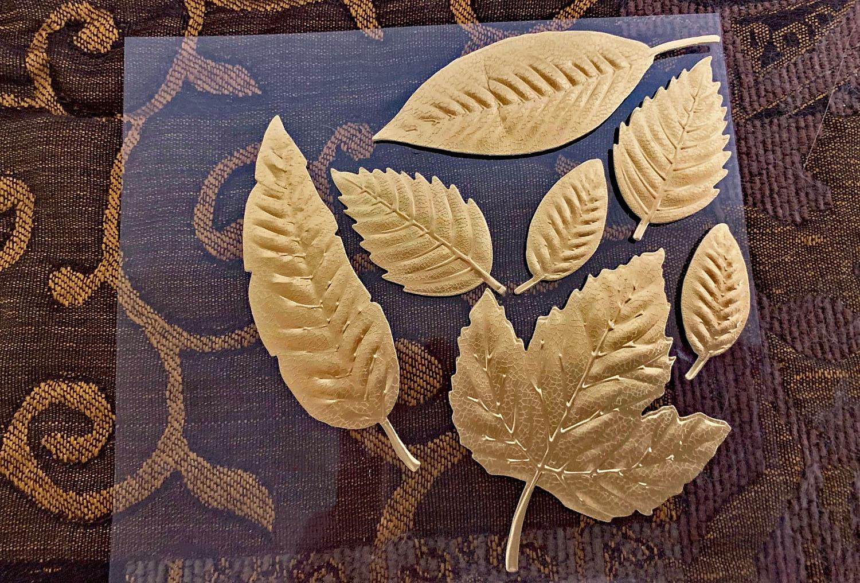 Elegant Nature Leaf stickers from Martha Stewart Crafts