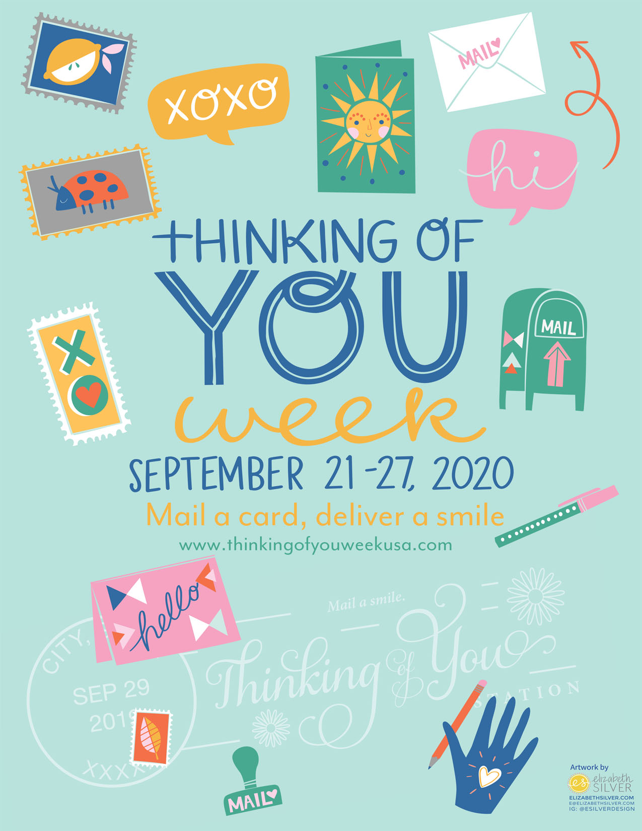 Thinking of You Week poster