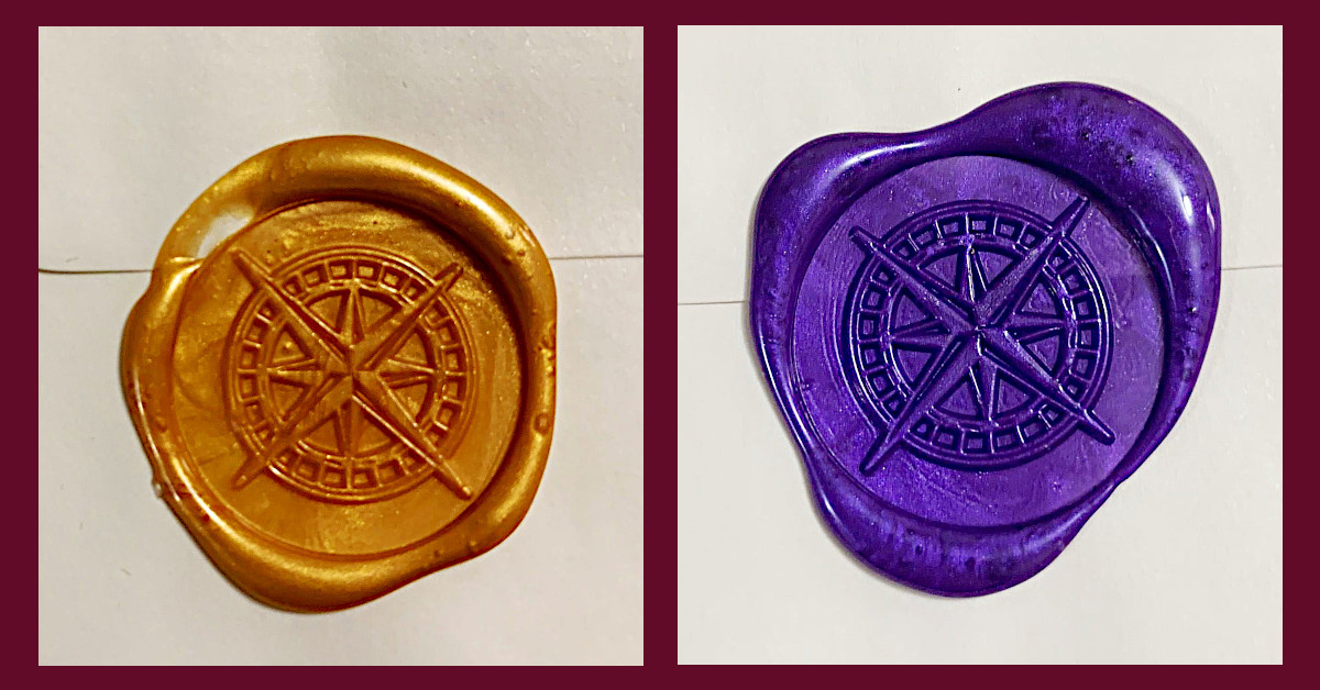 Compass Rose Wax Seals
