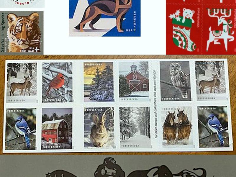 USPS Stamp Montage
